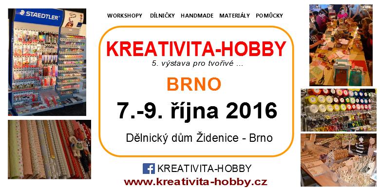 Kreativita - hobby Brno 2016