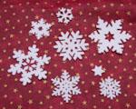 Bernina Cutwork - Sněhové vločky