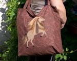 Zatkávání - taška s koněm