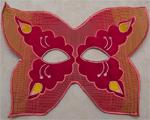 Karnevalová maska - motýl