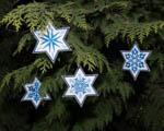 Vánoce - filcové ozdoby pro lenochy