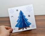 Vánoční přáníčka 3D a nový držák na pera