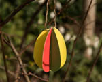 Velikonoce - papírová 3D vajíčka