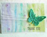 Videonávod - přáníčko s krajkovým motýlkem