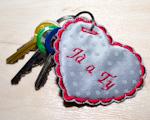 Srdíčko na klíče