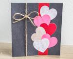 Valentýnské přání - zkuste si embosování