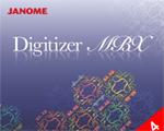 Janome Digitizer MBX - ruční digitalizace