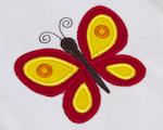 Aplikace - motýl