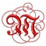 Písmeno M - gotické monogramy