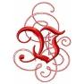 Písmeno V - gotické monogramy