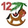 Adventní kalendář - č. 12 Koník