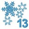 Adventní kalendář - č. 13 Vločky
