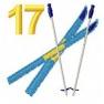Adventní kalendář - č. 17 Lyže