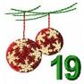 Adventní kalendář - č. 19 Baňky