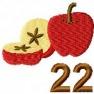 Adventní kalendář - č. 22 Jablka