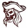 Lebka pirát