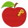 Jablko s červem