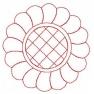 quiltovací květina