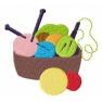 Košík s pletením
