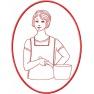 Kuchařka v rámečku