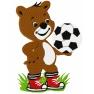 Medvídek Fotbalista