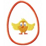 Velikonoční vajíčko kuře - aplikace