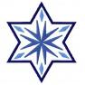 Hvězdička 4 s obrubou