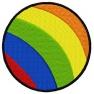 Barevný míč