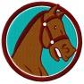 Plaketa koně