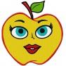 Vysmáté jablko